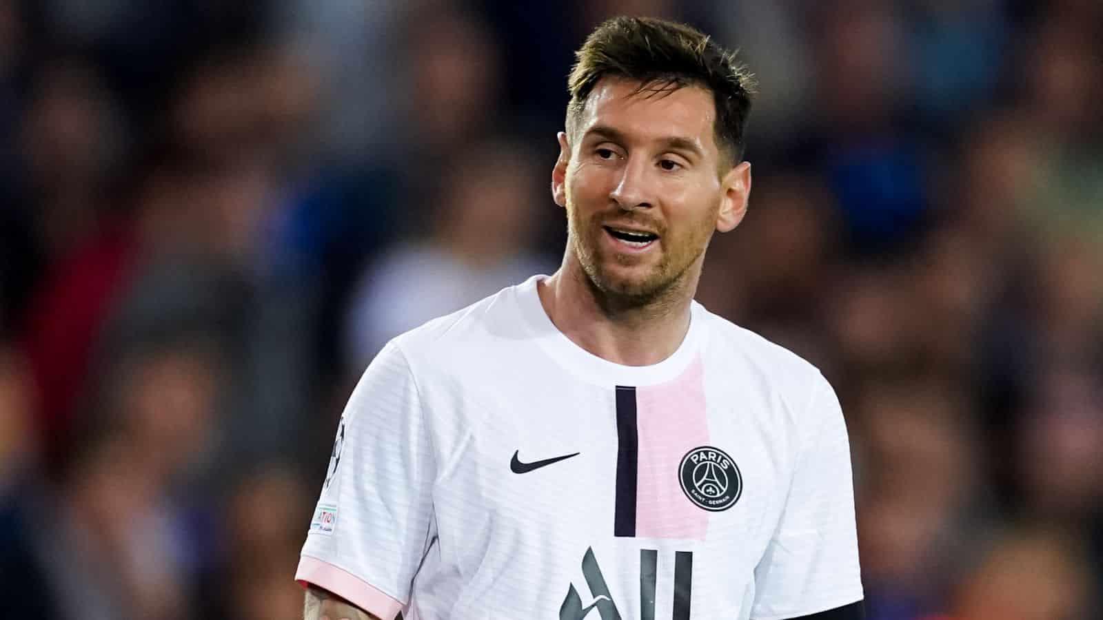 Lionel Messi thất bại trong việc truyền cảm hứng cho PSG